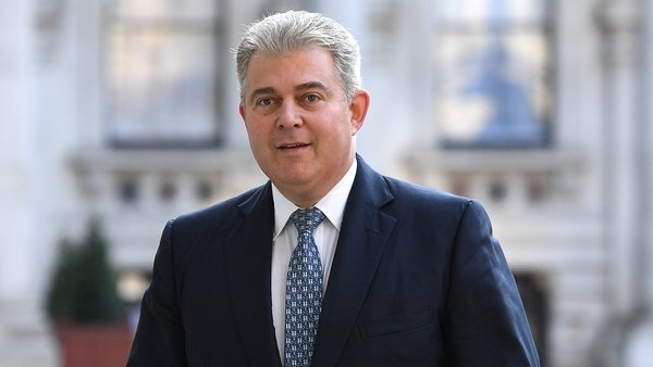 Brandon Lewis will also meet Sinn Féin's Mary Lou McDonald