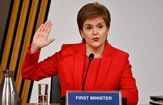 Nicola Sturgeon gives evidence to Committee investigating allegations against her predecessor Alex Salmond