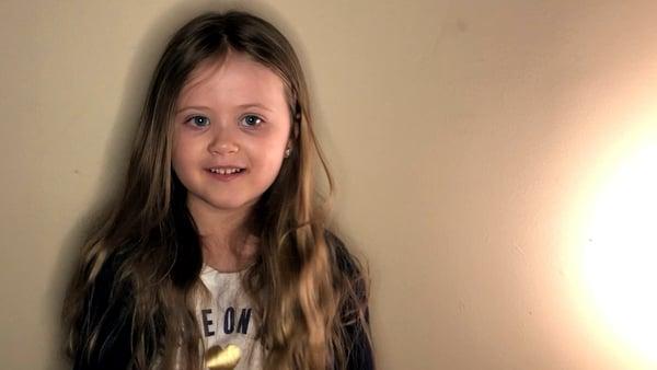 Lilliana Praznik will cut off her long hair to raise money for CHI Crumlin
