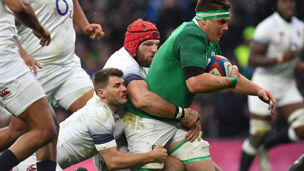 Ireland's last win over England came in 2018