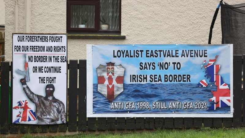 Loyalist groups said they were temporarily withdrawing their backing of the peace accord