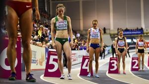 Síofra Cléirigh Buttner has high hopes in the 800m event