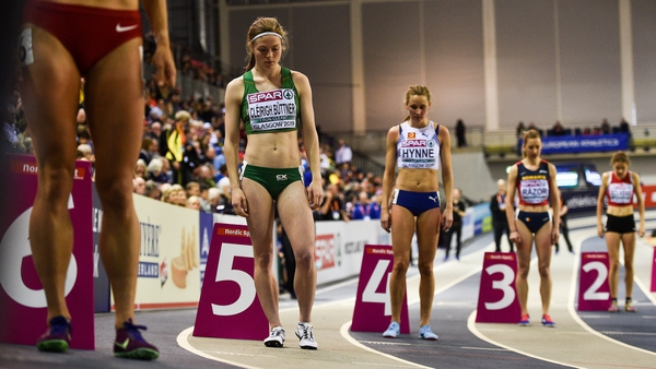 Síofra Cléirigh Buttner has high hopes in the 800m event
