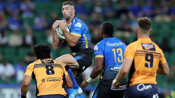 Rob Kearney in action during the opening game against the Brumbies