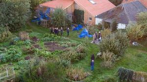 The remote farmhouse where the children were kept in Ruinerwold