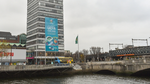 Dublin is set to host four matches at the tournament and staged the Euro 2020 draw in December 2018