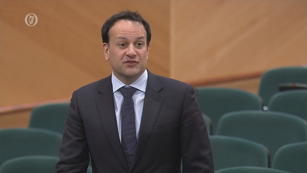 'We need to do everything we have to do to help these people,' Leo Varadkar told the Dáil