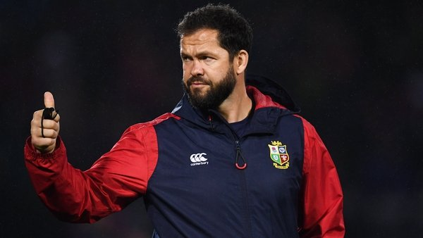 Andy Farrell was the defence coach with the Lions in 2013 and 2017