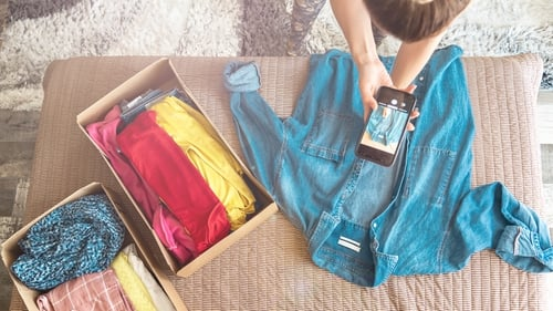 Everything you need to know about selling your old clothes online. Photo: Getty