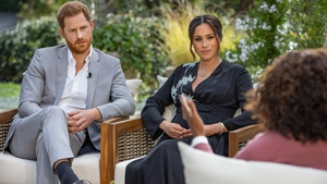 Harry and Meghan revealed they were expecting a girl in March during their tell-all interview with Oprah Winfrey