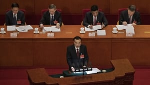 The Chinese congress session opened with an annual address by Premier Li Keqiang