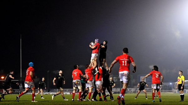 Connacht and Munster last met in January, where Johann van Graan's side edgedout their hosts at the Sportsground in a thrilling finish