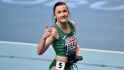 Phil Healy was in top form in winning her heat this morning in the women's 400 metres