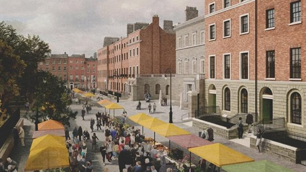 Funding is being provided under the Urban Regeneration and Development Fund