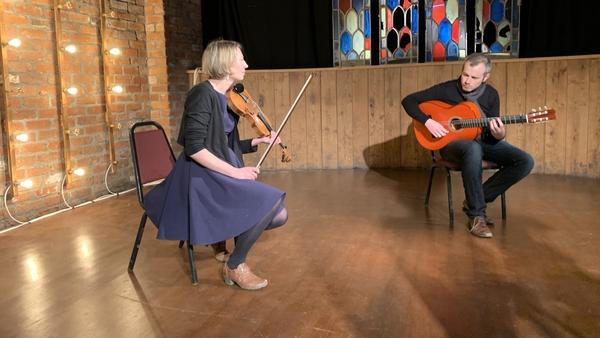 Flamenco guitarist John Walsh and violinist Marja Gaynor will perform