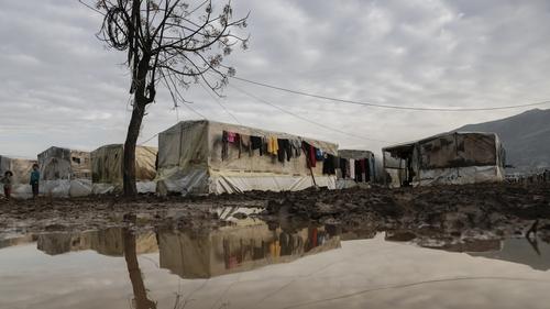 Syrian refugee camp near Tripoli