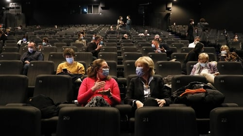 This week's opening night audience at the Luxfilmfest was limited to a sell-out 100 guests
