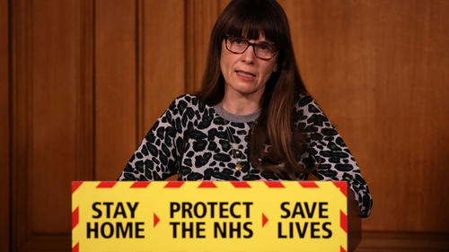 Public Health England's Dr Susan Hopkins told a Downing Street press conference how the person was found