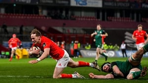 Mike Haley showed great skill to get that all-important try