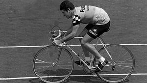 Stephen Roche stunned cycling by winning Paris-Nice in his first year as a pro