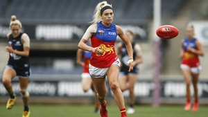 Orla O'Dwyer made five tackles as the Brisbane Lions overran Western Sydney by 38 points at Manuka Oval