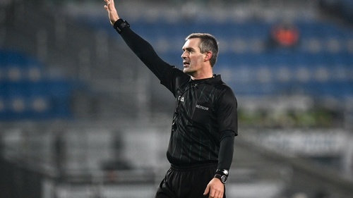 James Owens refereed last year's All-Ireland hurling semi-final between Galway and Limerick