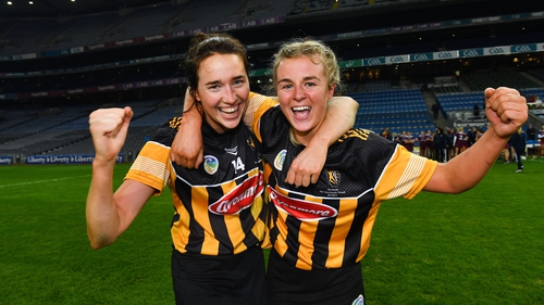Denise Gaule, left, and Grace Walsh were both named in the 2020 Team of the Year