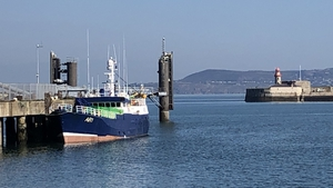 Trawler was towed to harbour after drifting for days in the Irish Sea because of engine failure