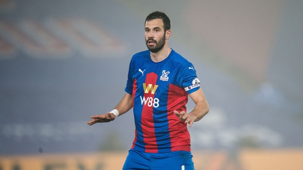 Luka Milivojevic of Crystal Palace