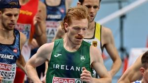 Tobin finshed 11th in the 3000-metre final