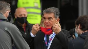 Laporta enjoyed success during his previous presidency