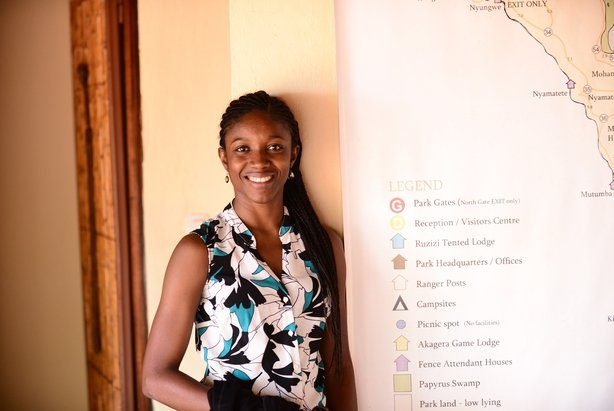 Elizabeth Ojo, director of operations at ALU's School of Wildlife conservation (ALU/PA)