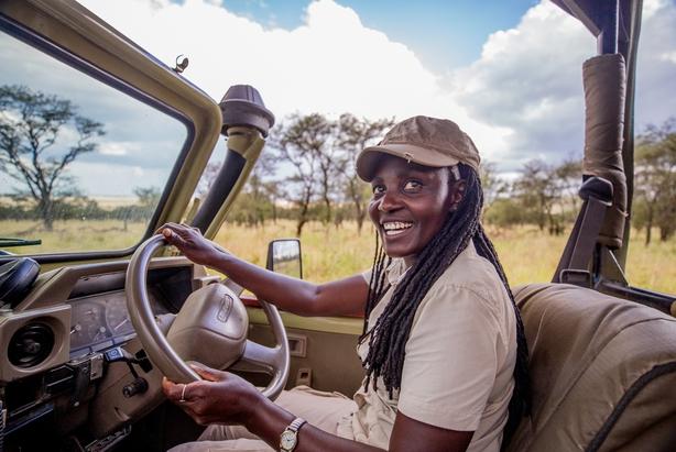 Safari guide Jonesia 'Zawadi' Dominic (Asilia/PA)