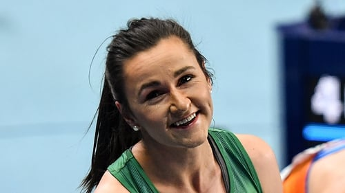 Phil Healy feels like she won a medal at the European Indoors