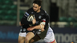 Rufus McLean in action for Glasgow against Ulster in the Pro14