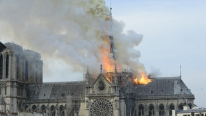 April 15, 2019: A very sad day for France.