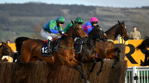 It Came To Pass (near side) scored in the amateurs' Gold Cup at last year's Festival