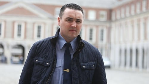 Keith Harrison was suspended by the Garda Commissioner last week (File pic: RollingNews.ie)