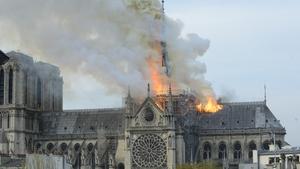 Sad day: Notre-Dame ablaze on April 15, 2019