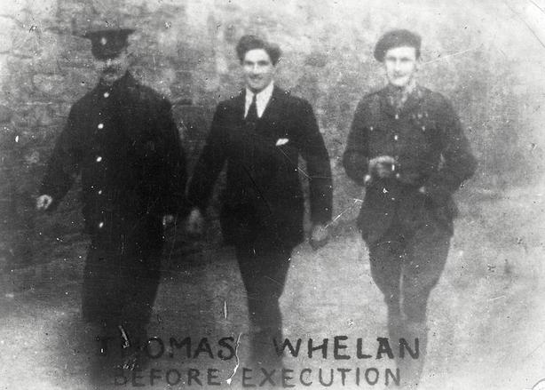 Thomas Whelan, a native of Clifden, before his execution. Photo: National Library of Ireland
