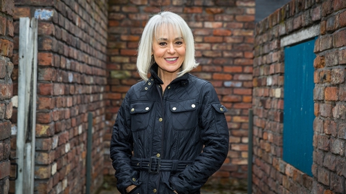 """Tracie Bennett: """"I am so pleased that I can finally tell everyone as it has been hard trying to keep the secret."""""""