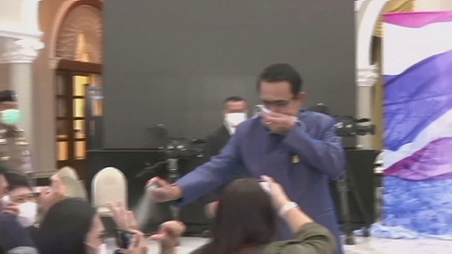 Prayuth Chan-ocha is known for his casual, at times comical, remarks to media but he often lashes out at reporters