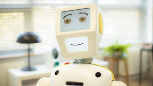 Robots, such as Stevie, have already been developed for healthcare (Pic: Akara Robotics)