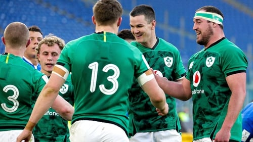 Can Ireland repeat their six-try Italian scoring performance against superior opposition?