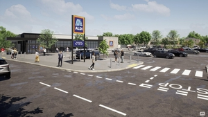 25 new permanent jobs will be created when the proposed new Aldi store opens in Cootehill