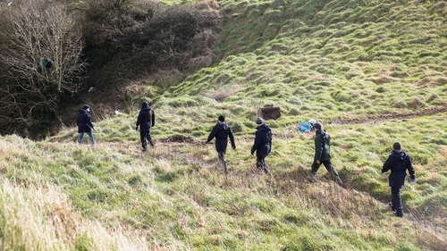 The partial remains were discovered near Rathmullen Park on 11 March