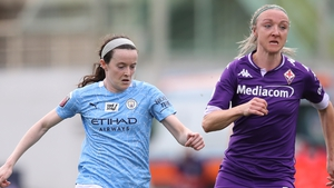 Manchester City beat Louise Quinn's Fiorentina in the last-16