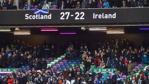Scotland's last win over Ireland came in 2017