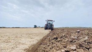 Ciaran O'Regan now ploughs the fields he used to fly over