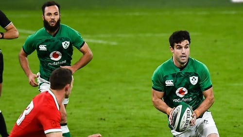 Jamison Gibson-Park retains his starting spot despite the return to fitness of Conor Murray (r)